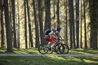 Mountainbiker in Berwang